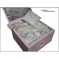 Покрывало+ валик и подушка R.BALESTRA арт.Elisavette bisc