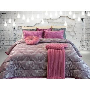 Покрывало+2 подушки LEIPER арт.Mural lilac