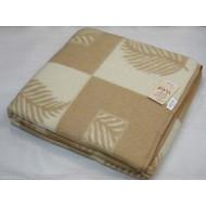 Одеяло 'Лист бел/беж'
