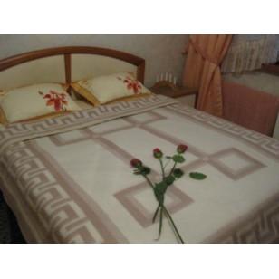 Одеяло 'Греция бел/беж'