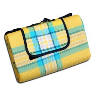 Плед 'Bocasa Picnic yellow 528322'