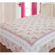 Покрывало 'Rafaella крем/розовый'